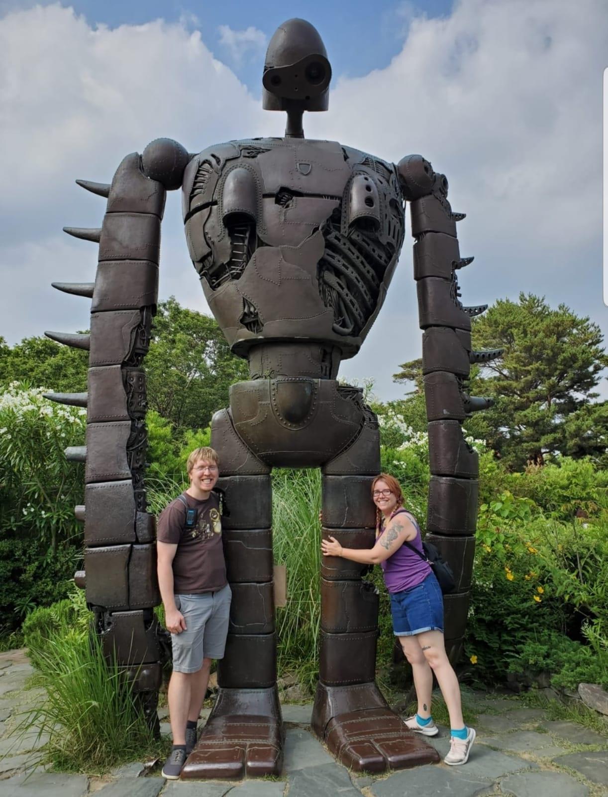 Ghibli Robot Soldier statue