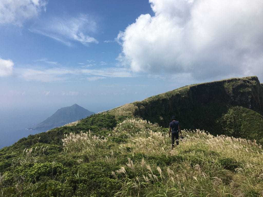 Main hiking in Hachijojima